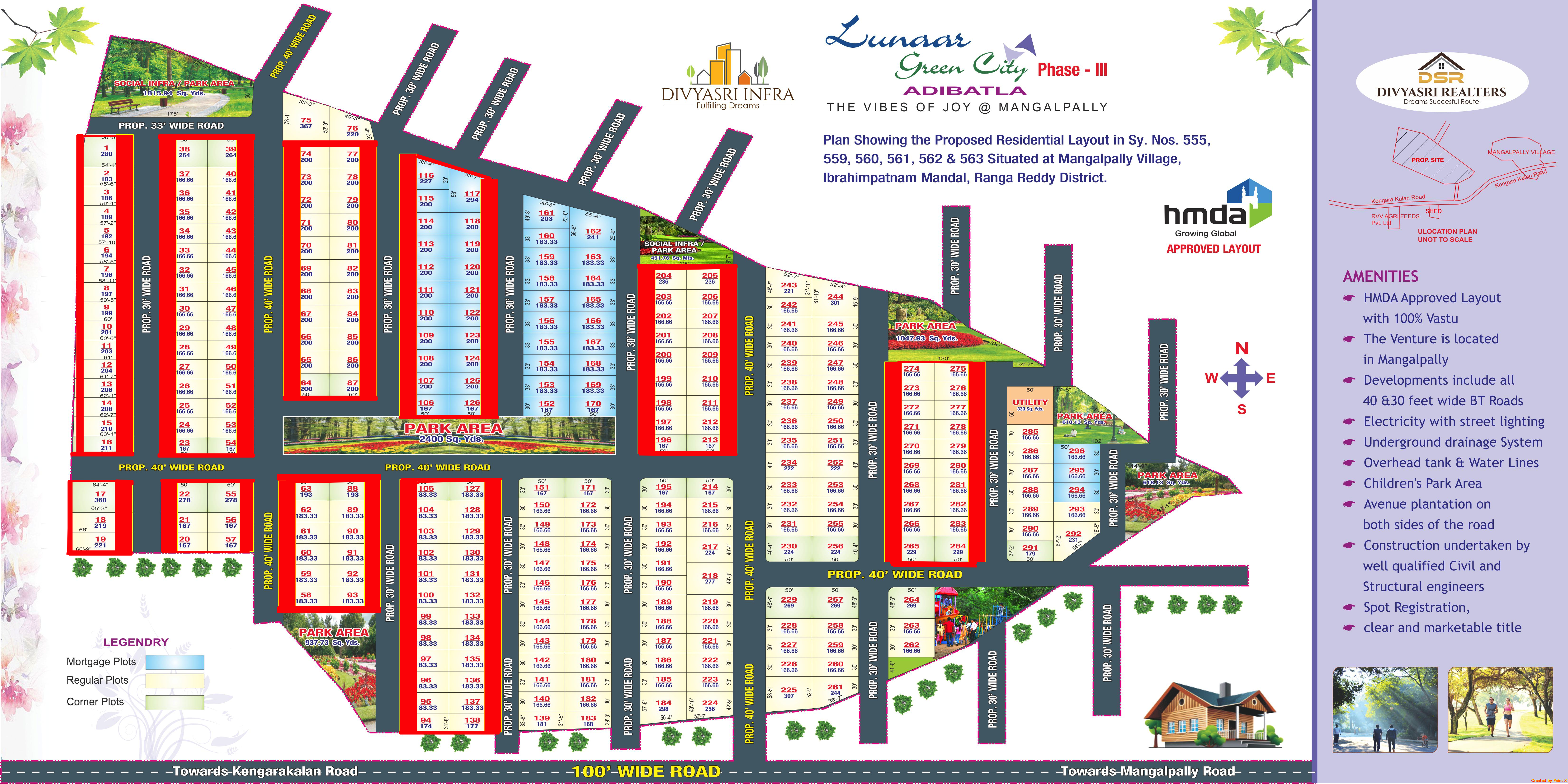 Lunaar GreenCity 3 Layout